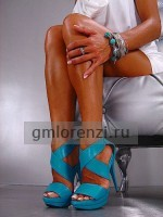 Italian Best  shoes turquoise